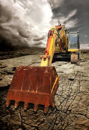 挖掘机器人